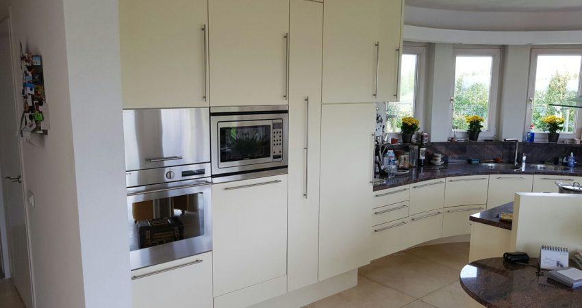 keuken renovatie makkum , weer een prachtige frisse keuken ! spuiterij friesland