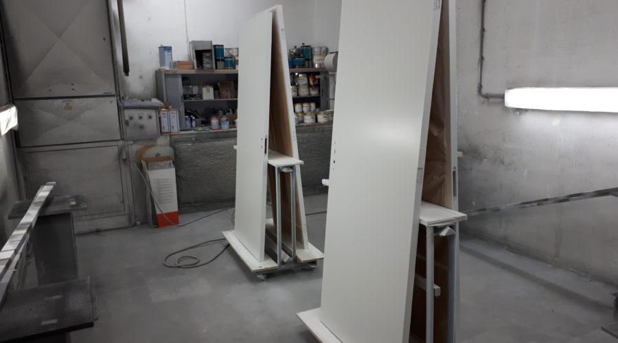 Deuren Laten Spuiten : Deuren overspuiten meubel spuiterij zuidwest friesland